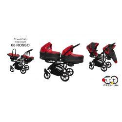 Baby Active Twinni Iker Babakocsi (Rosso)