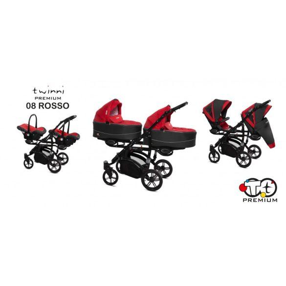 Baby Active Twinni Iker Babakocsi (piros)