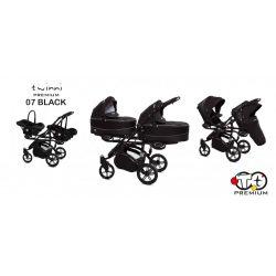 Baby Active Twinni Iker Babakocsi (Fekete)