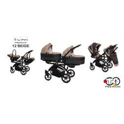 Baby Active Twinni Iker Babakocsi (Bézs)