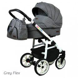 Baby Lux COLORLUX Multifunkciós Babakocsi (grey flex)