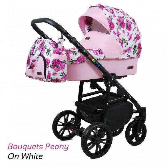 Baby Lux COLORLUX Multifunkciós Babakocsi (bouquets peony)