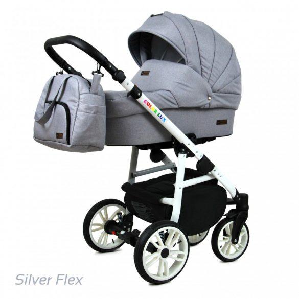 Baby Lux COLORLUX Multifunkciós Babakocsi (silver flex)