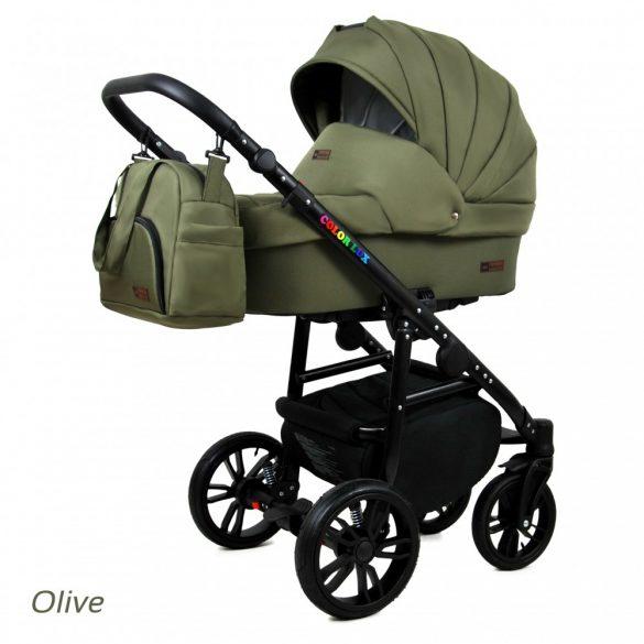 Baby Lux COLORLUX Multifunkciós Babakocsi (olive)