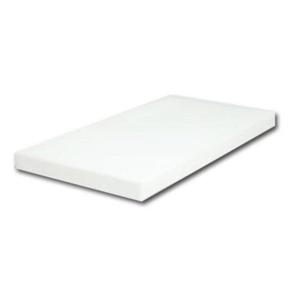SYMBABA Bajka Fenyő Kiságy Ágyneműtartóval (Fehér) + 60x120x6cm Kókuszmatrac