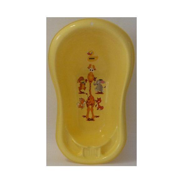 Zsiráfos Babafürdető Kád (sárga)