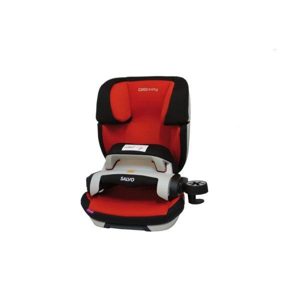 Salvo Isofix Gyerekülés (piros)